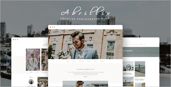 Friendly Blogger PSD Template