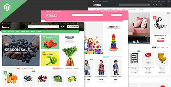 Fruit Business Magento Template