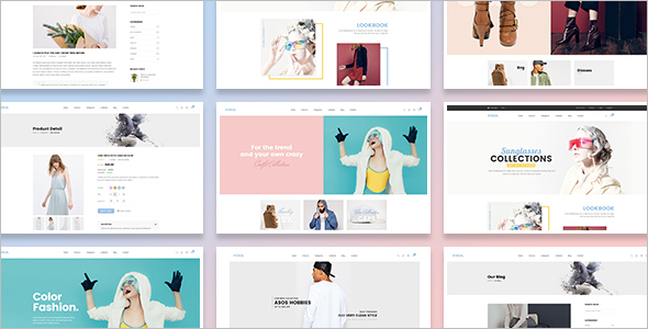Fully Responsive Boutique Website Template