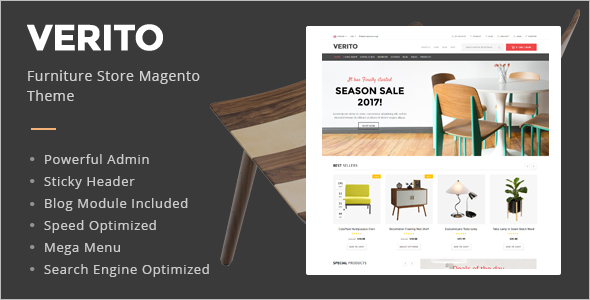 Furniture Business Magento Template