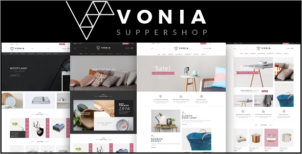 Furniture Portfolio Opencart Theme
