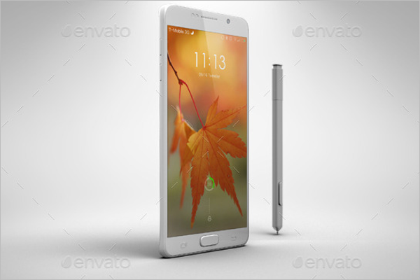Galaxy Note5 Mobile Template