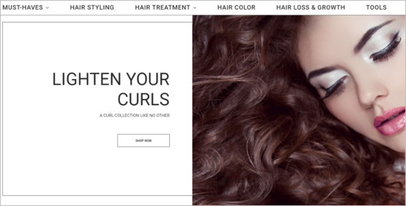 Hair Color PrestaShop Theme