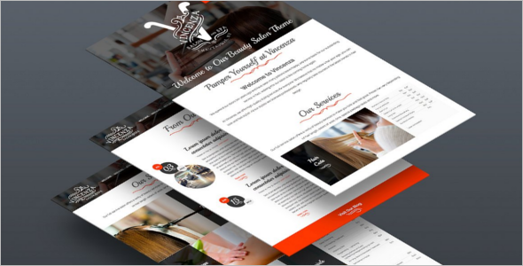 Hair Salon Bootstrap Template