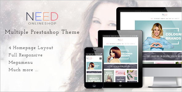 Hair Salon Prestashop Theme