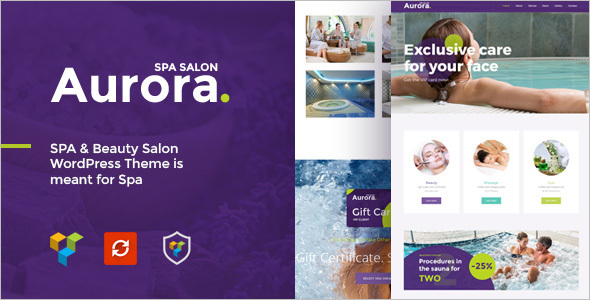 Hair Salon Website Idea Theme