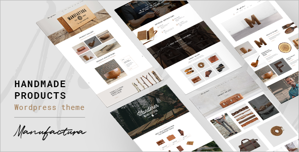 Handmade Crafts WordPress Template