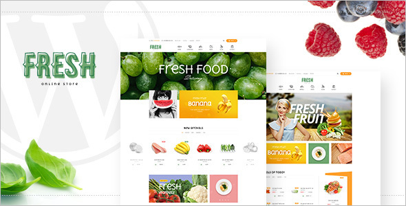 Health & Beauty Restaurant OpenCart Template