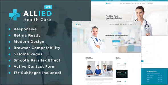 Health Care Website Template