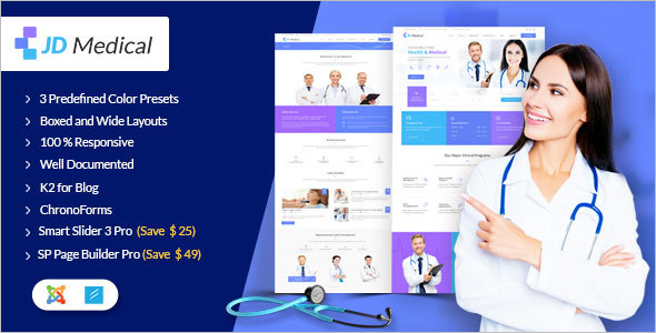 Health & Medical Joomla Template