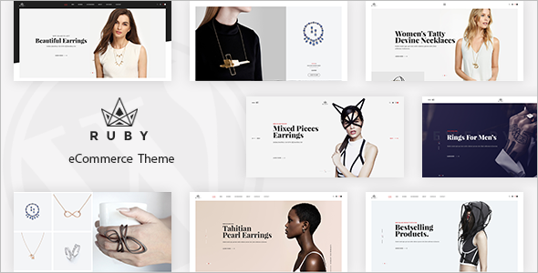 Healthy Jewelry OpenCart Template