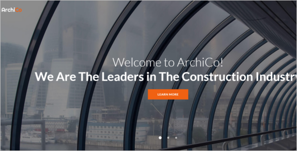 Industry Construction Website Template