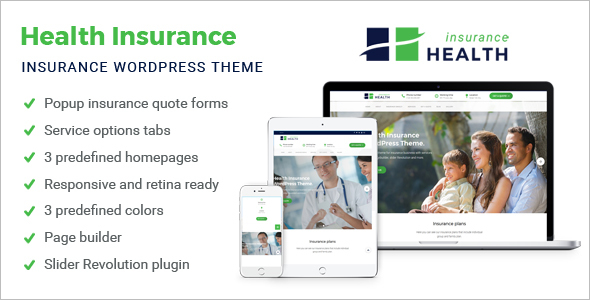 Insurance WordPress Website Theme