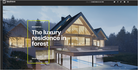 Interior Design HTML  Website Template