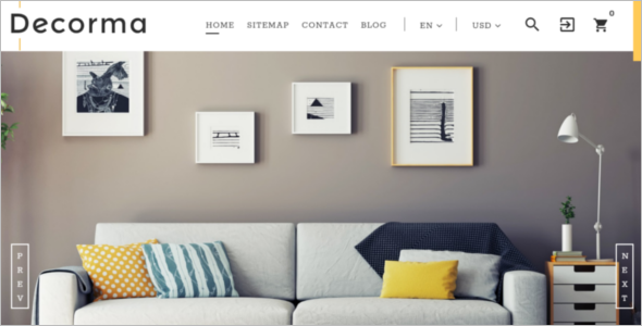 Interior Design PrestaShop Template