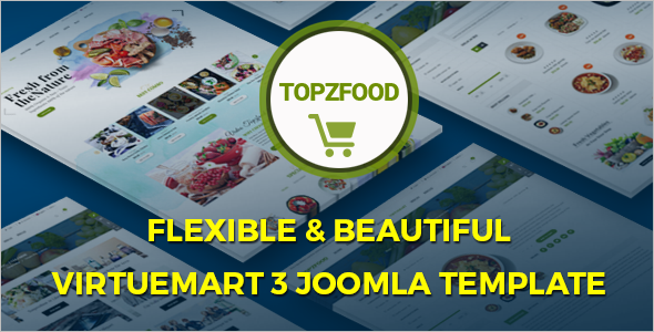 Joomla 3.0 Virtuemart Template