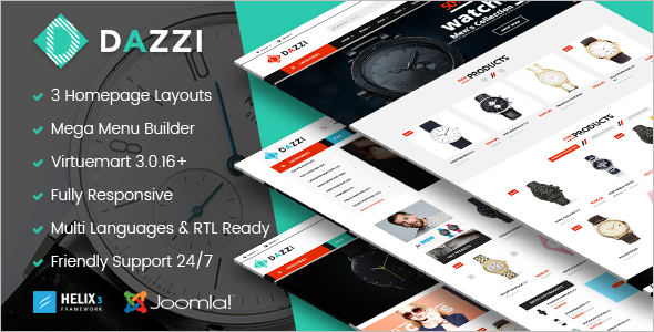 Joomla Virtuemart Store Template