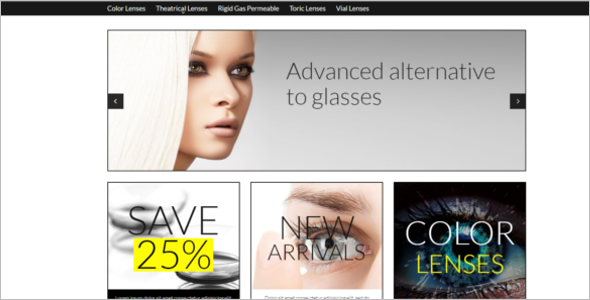 Lens Store VirtueMart Template