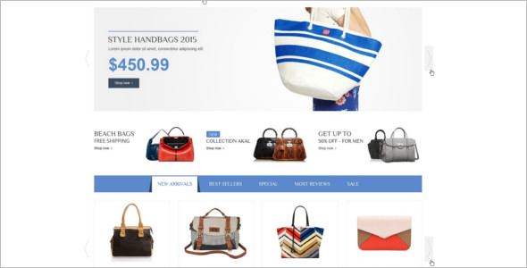 Magento E-commerce Based Theme