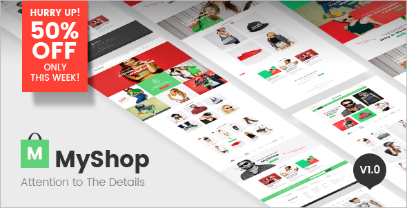 Magento E-commerce Template Model