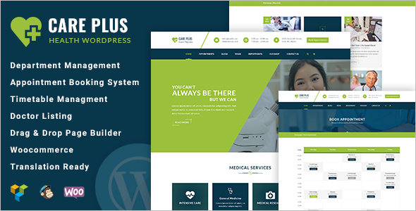 Medical Hosting Website Template