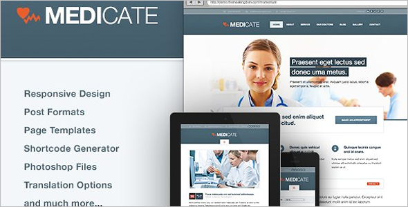Medical Website Blog Theme