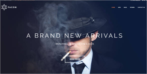 Men's Fashion OpenCart Theme