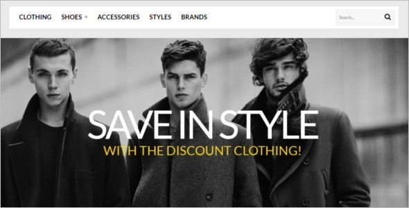 Mens Shopping Spot ZenCart Template