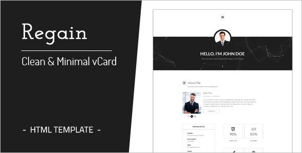Minimal Business Joomla Website Template