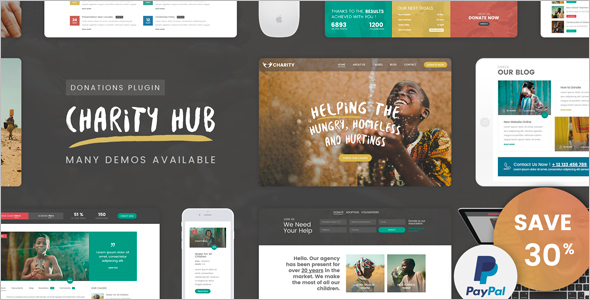 Minimal Church Website Theme