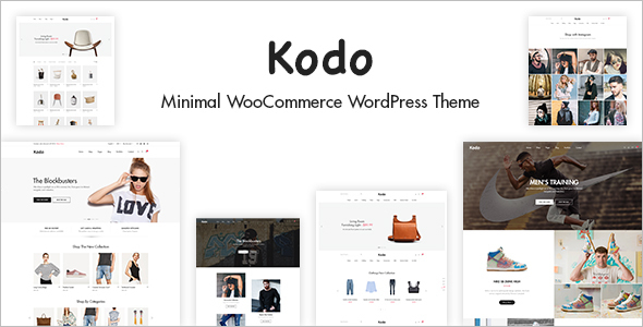 Minimal E-Commerce Website Theme