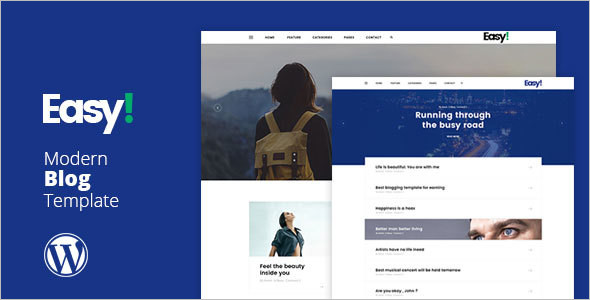 Minimal Single Page Website Template
