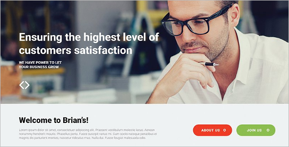 Modern Consultancy Website Template