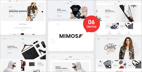 Modern Fashion Magento Template