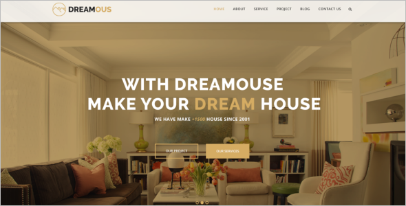 Modern Interior Design Website Template