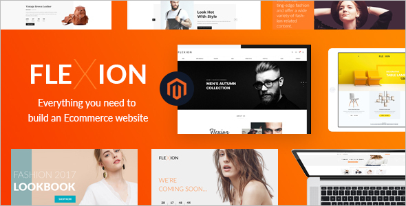Modern Magento E-commerce Template