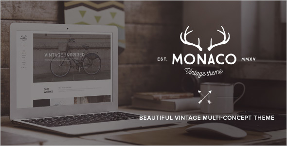 Multi-Concept Vintage Website Theme
