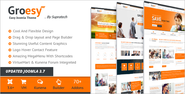 Multi Purpose Business Joomla Template