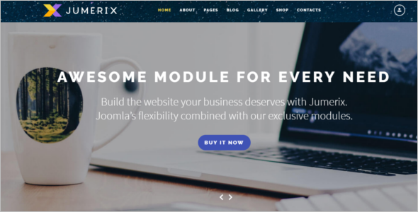 Multi Purpose Joomla Project Template