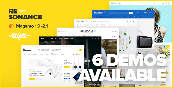 Multi-Purpose Magento E-commerce Theme