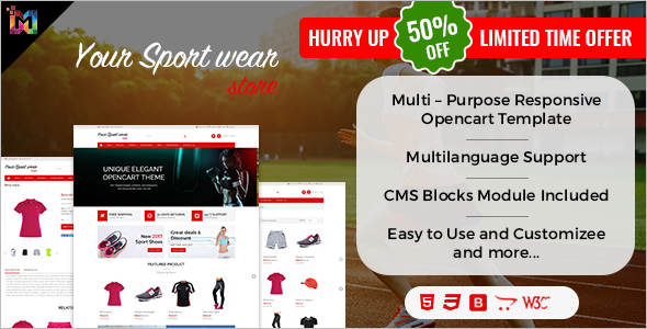 Multiconcept Business OpenCart Theme