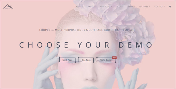 Multipage Website Single page Template