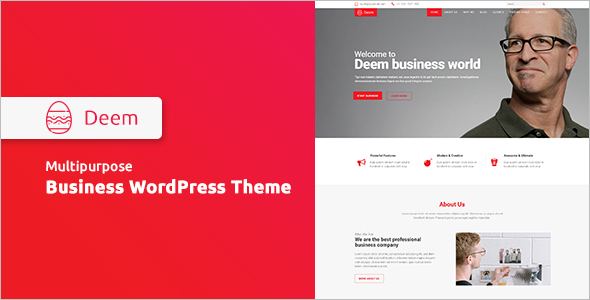 Multipurpose Bootstrap Blog Template