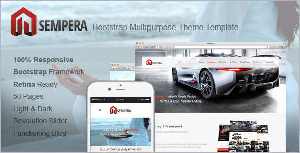 Multipurpose Bootstrap Shopping Cart Template