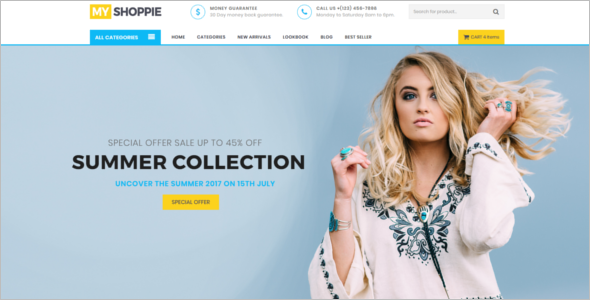 Multipurpose Boutique Website Template