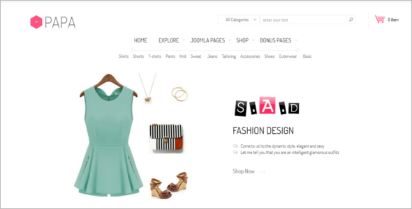 Multipurpose Jewelry VirtueMart Theme
