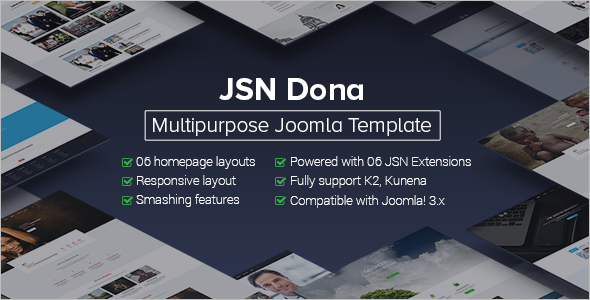 Multipurpose Political Joomla Template