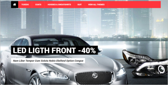 Multipurpose Prestashop Car Theme