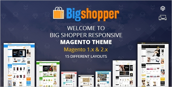 Multipurpose Restaurant Magento Theme