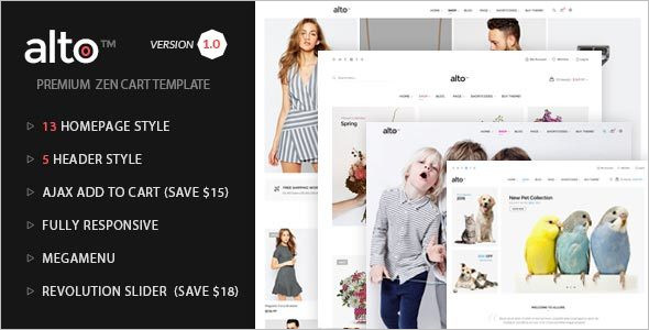MultipurposeZencart Template